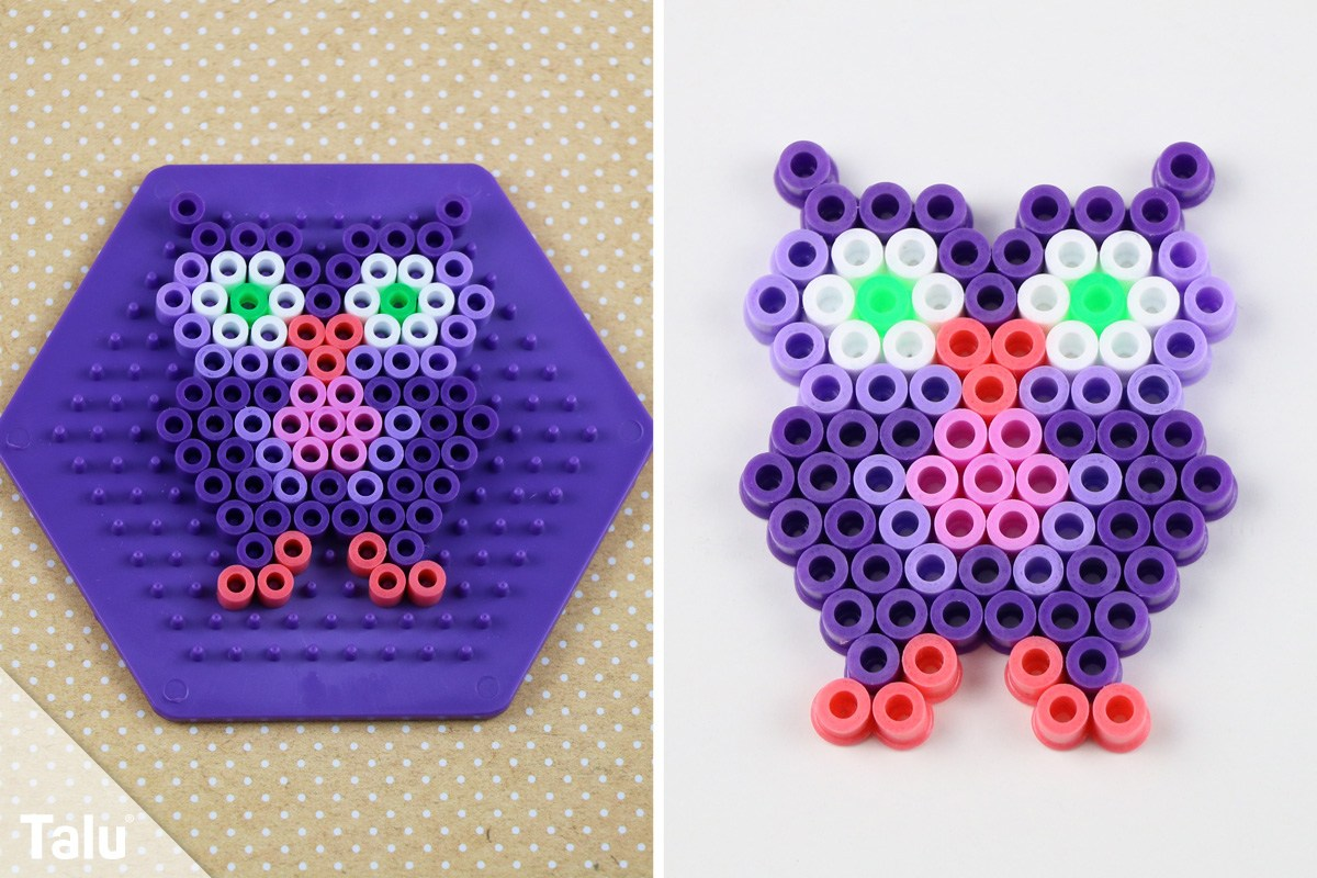 Sehr Bügelperlen bügeln - DIY-Anleitung für Kinder - Talu.de AP54