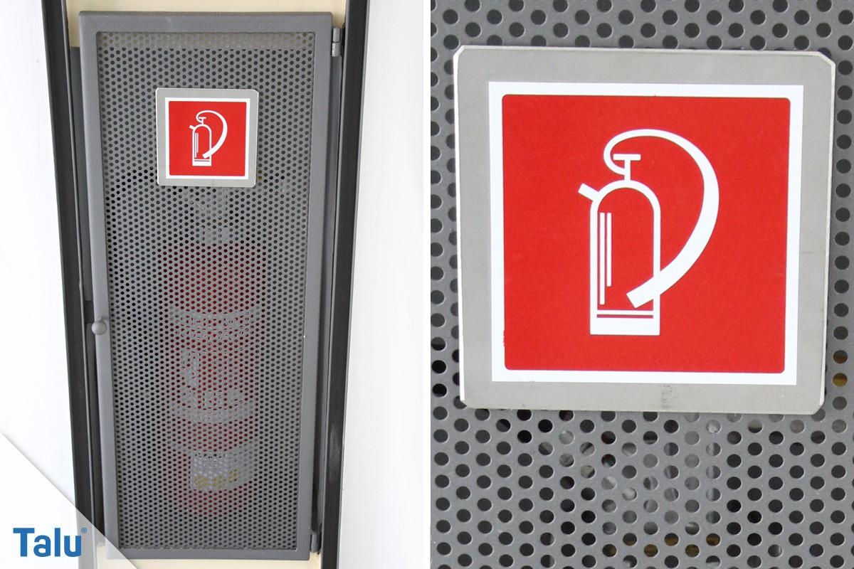 Feuerlöscher-Symbol
