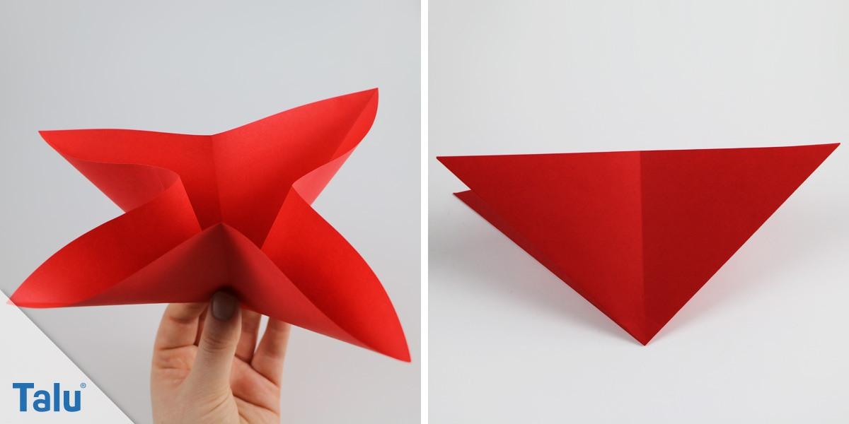 Marienkäfer aus Papier basteln