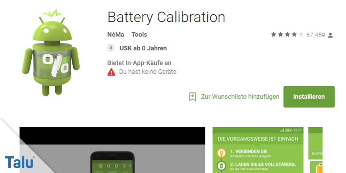 App Battery Calibration