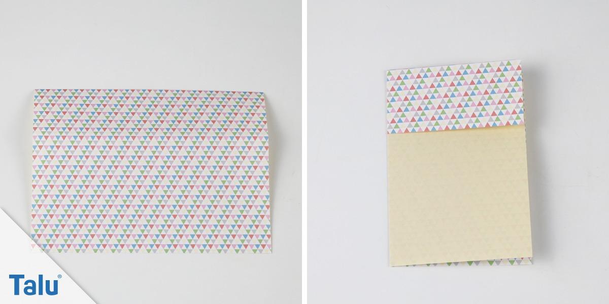 Origami-Schachtel falten