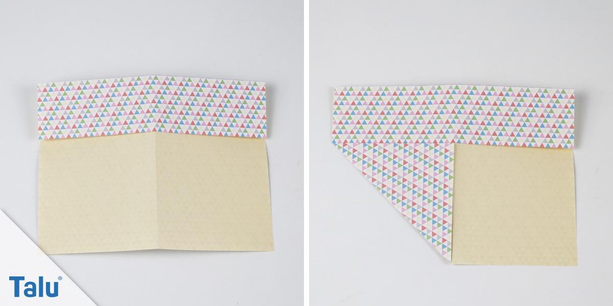 Origami Box basteln