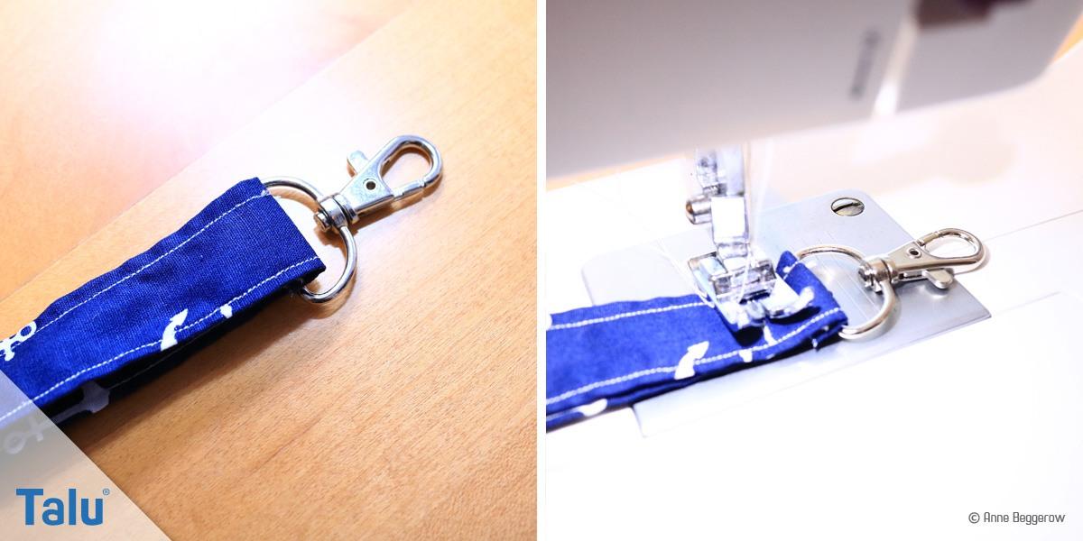 Favorit Schlüsselanhänger/ Schlüsselband nähen - aus Stoff/Filz QG62