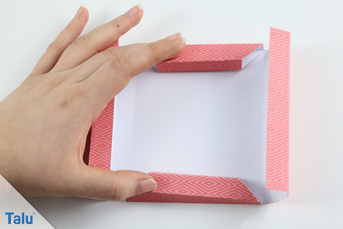 Origami-Bilderrahmen basteln