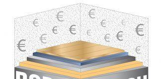 Kosten für Fußbodenaufbau