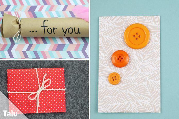Gutscheine Verpacken 15 Originelle Ideen Und Tipps Talu De