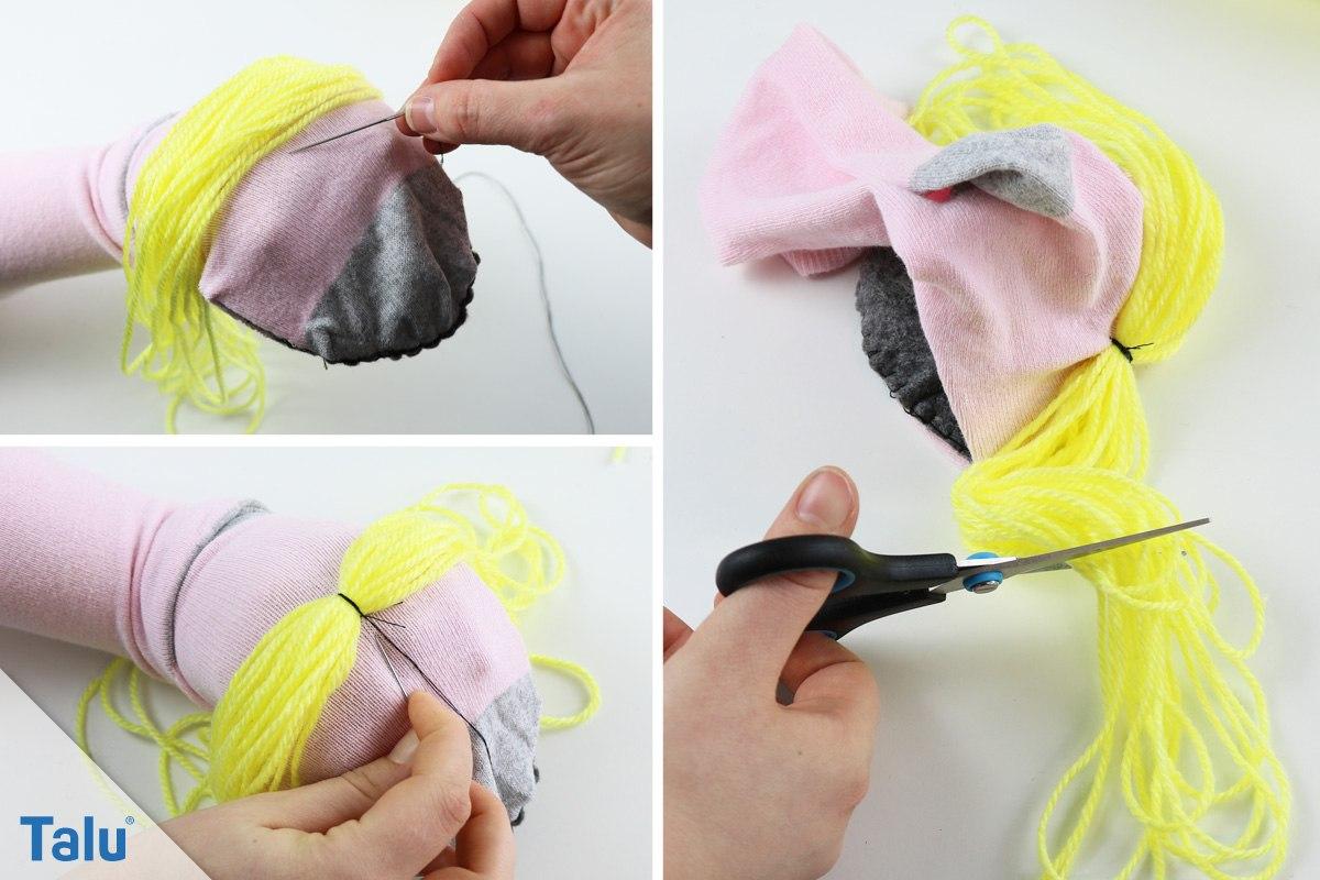 DIY-Sockenpuppe basteln