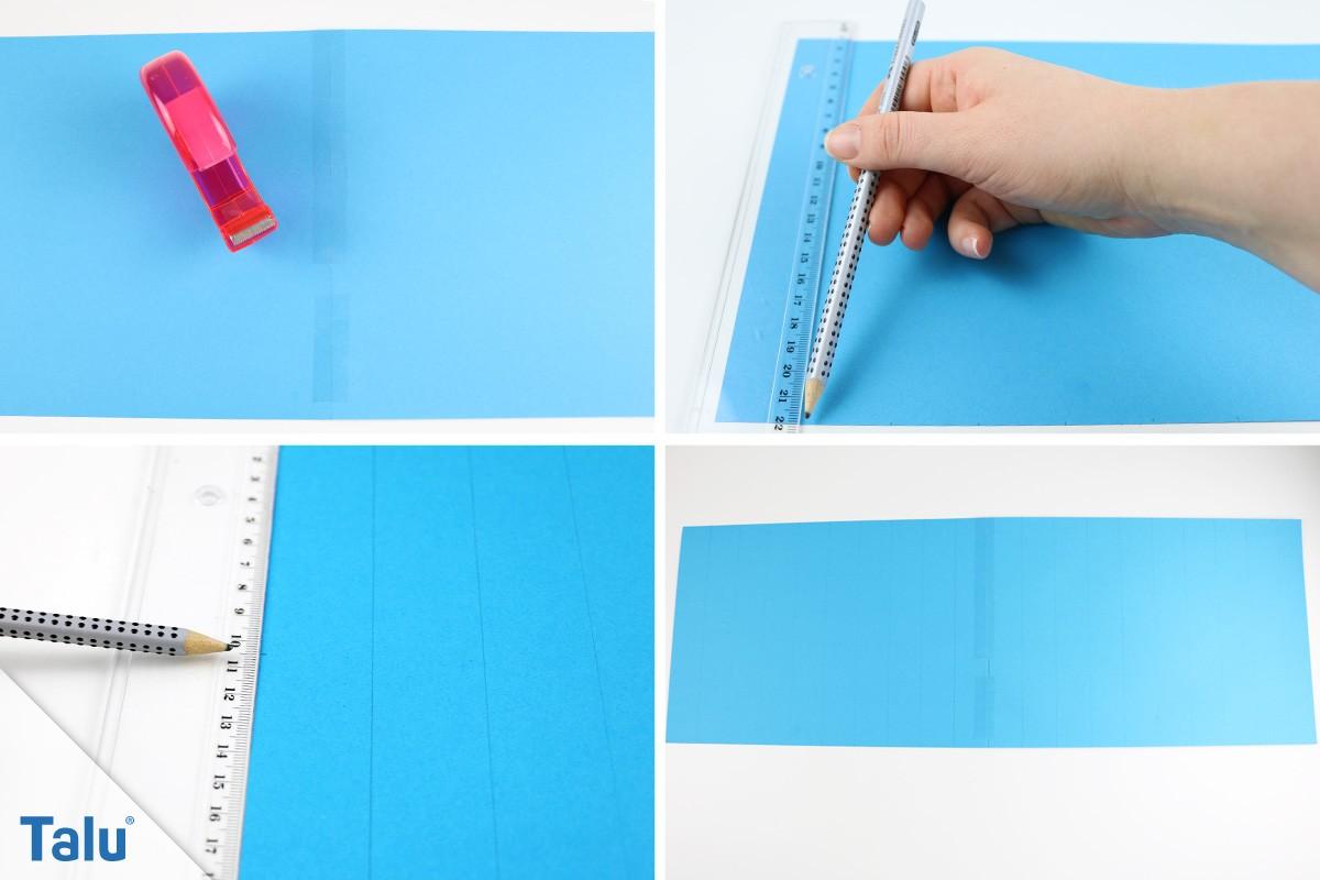 Origami-Lampenschirm Vorlage