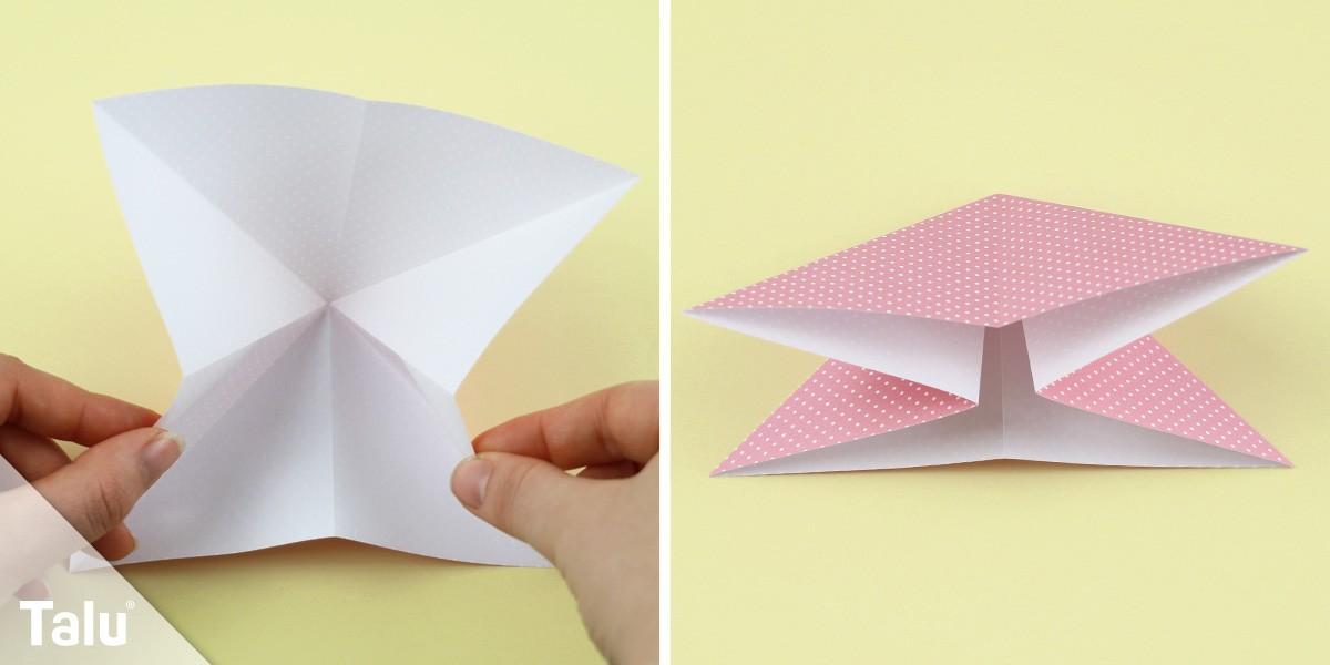 Origami-Tulpe basteln