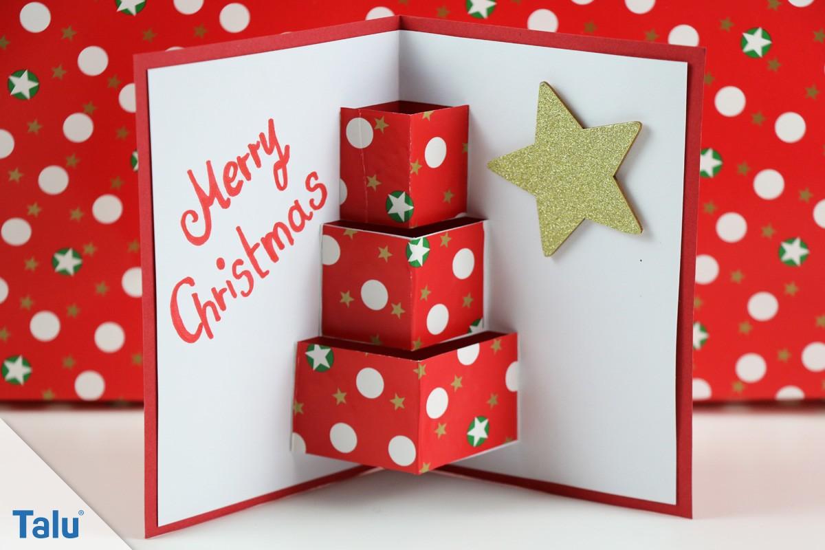 Weihnachtsgeschenke Basteln.Weihnachtsbasteln Ideen Anleitungen Basteln Für Weihnachten