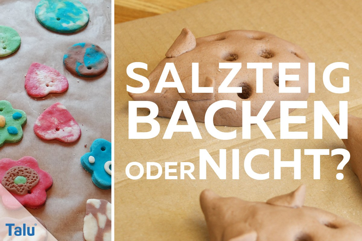 Gut bekannt Salzteig mit oder ohne Backen - so gelingt er am besten - Talu.de QS04