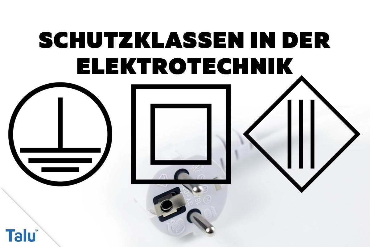 Geräteschutzklassen