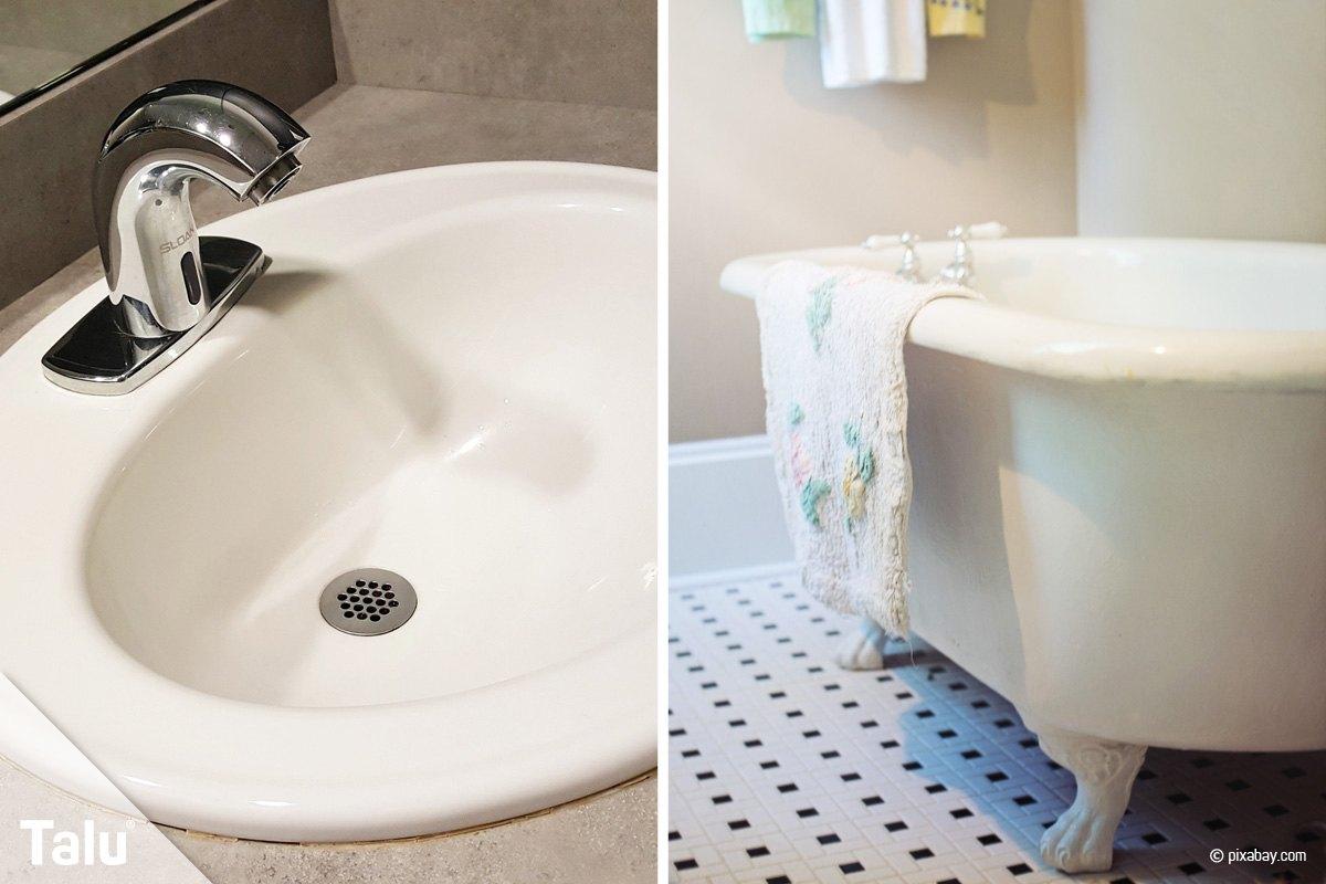 emaille reparieren badewannenreparatur selber machen. Black Bedroom Furniture Sets. Home Design Ideas