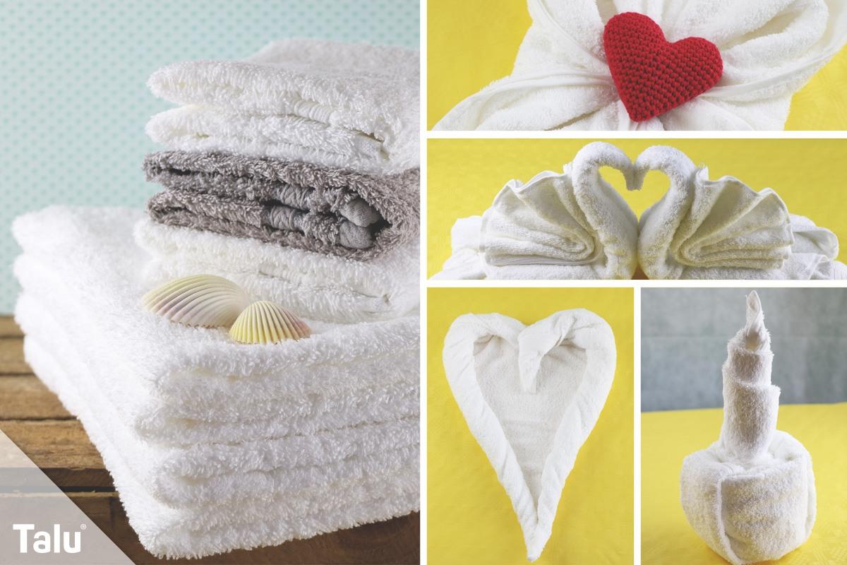 Einfach genial: Handtücher falten wie im Hotel - Talu.de