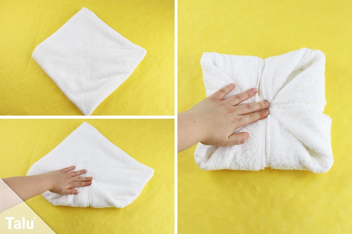 Blume aus Handtuch