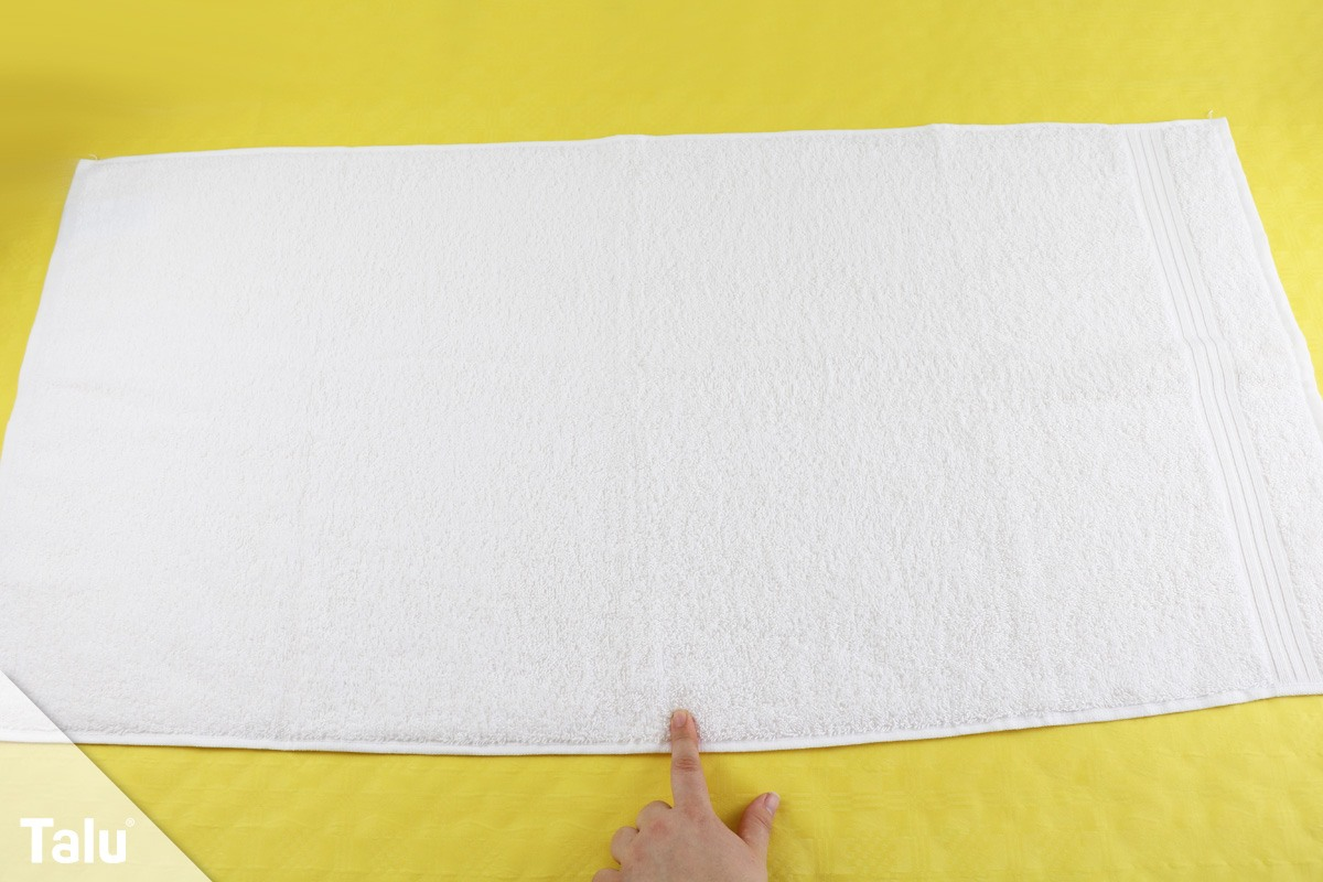 Bekannt Einfach genial: Handtücher falten wie im Hotel - Talu.de KP51