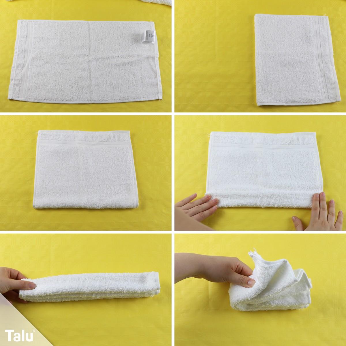 Handtuch-Schwan wie im Hotel