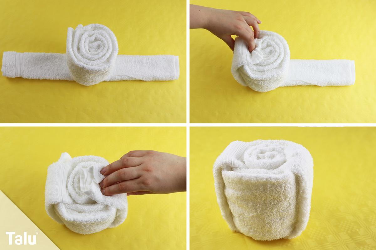 Handtuch wie im Hotel falten