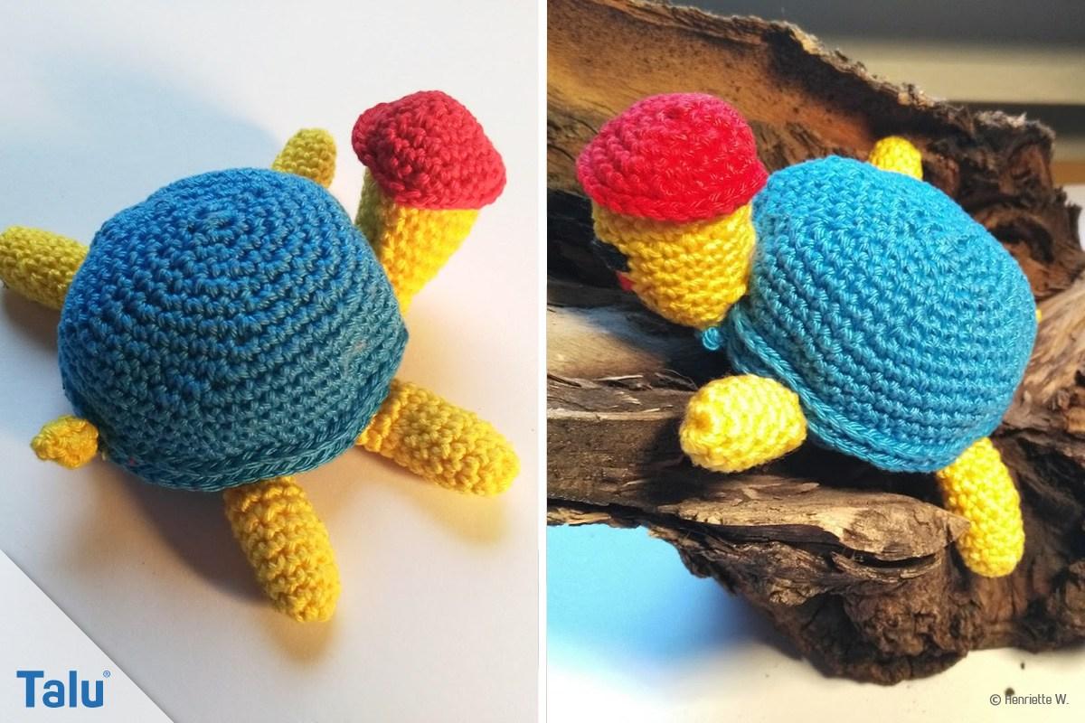 Schildkröte häkeln