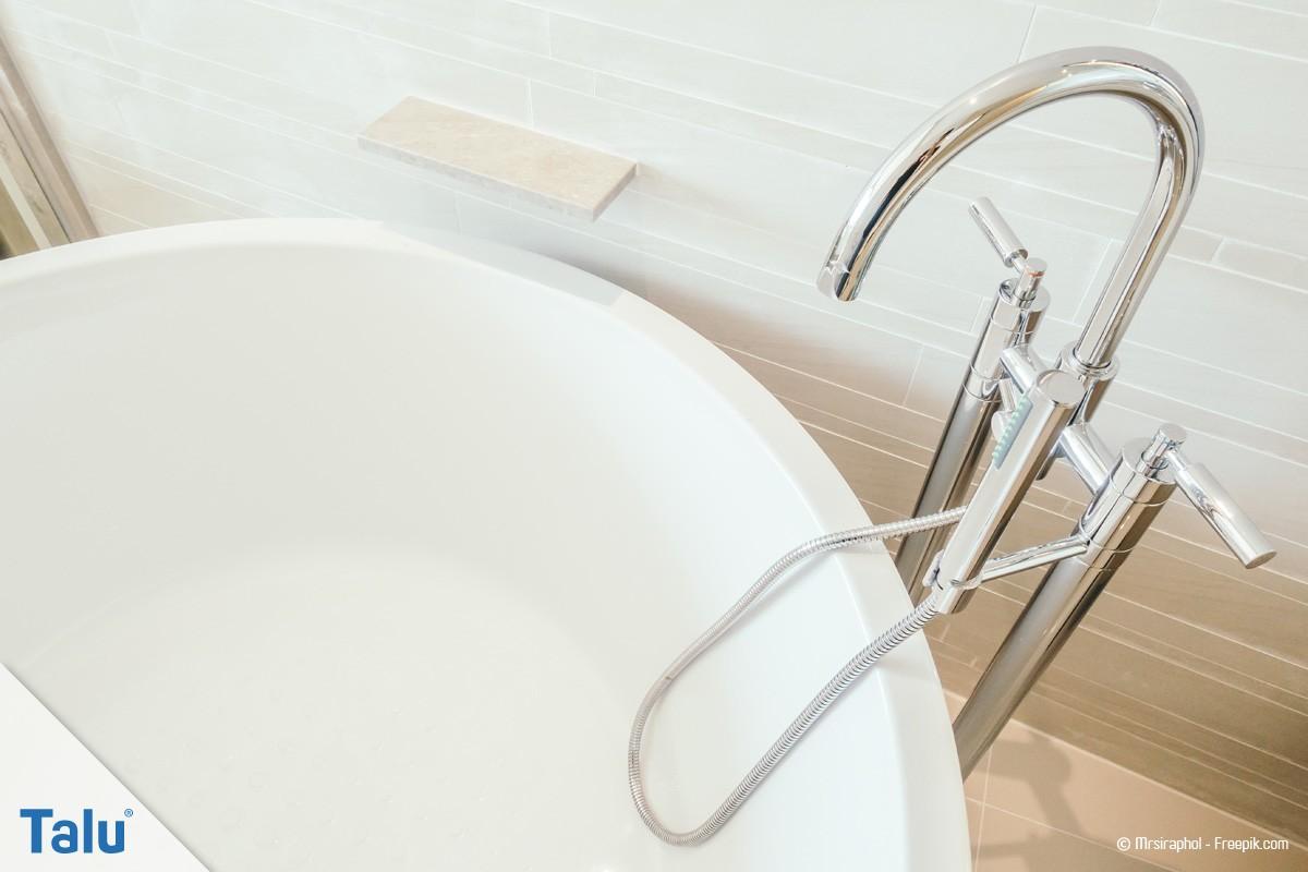 Eckbadewanne maße standard  Badewanne/Eckbadewanne - Maße und Normgrößen nach DIN - Talu.de