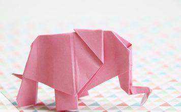 Origami-Elefant