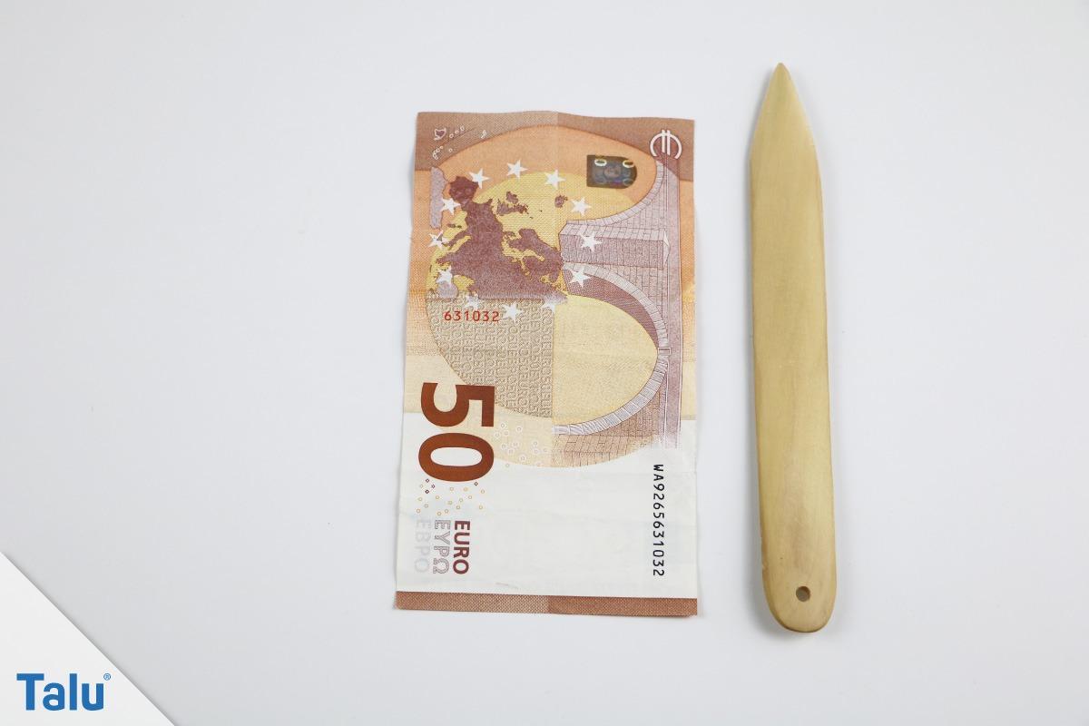 Elefant aus Geldschein falten