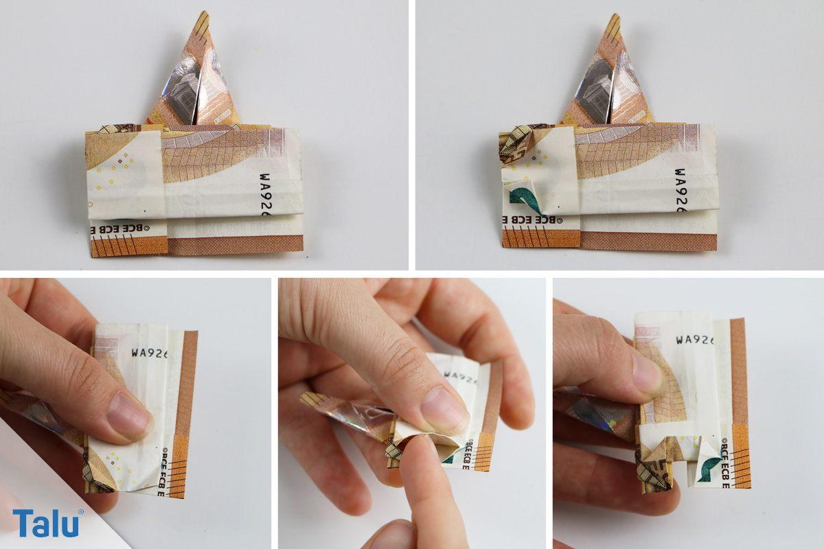 Origami-Elefant falten