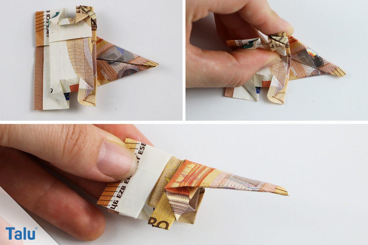 Origami Elefant falten