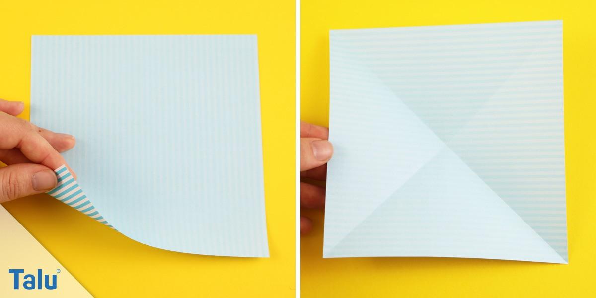 Diagonalen falten