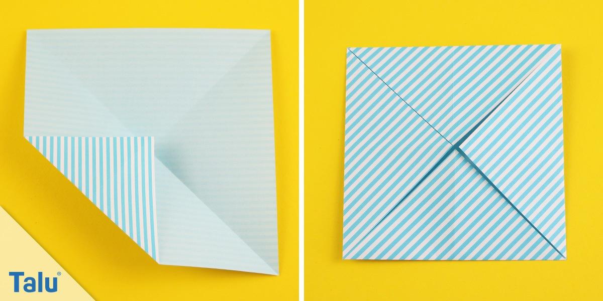 Origamihund basteln