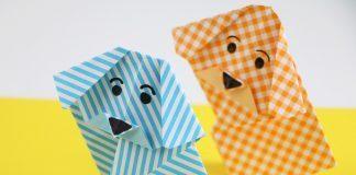 Origami-Hunde