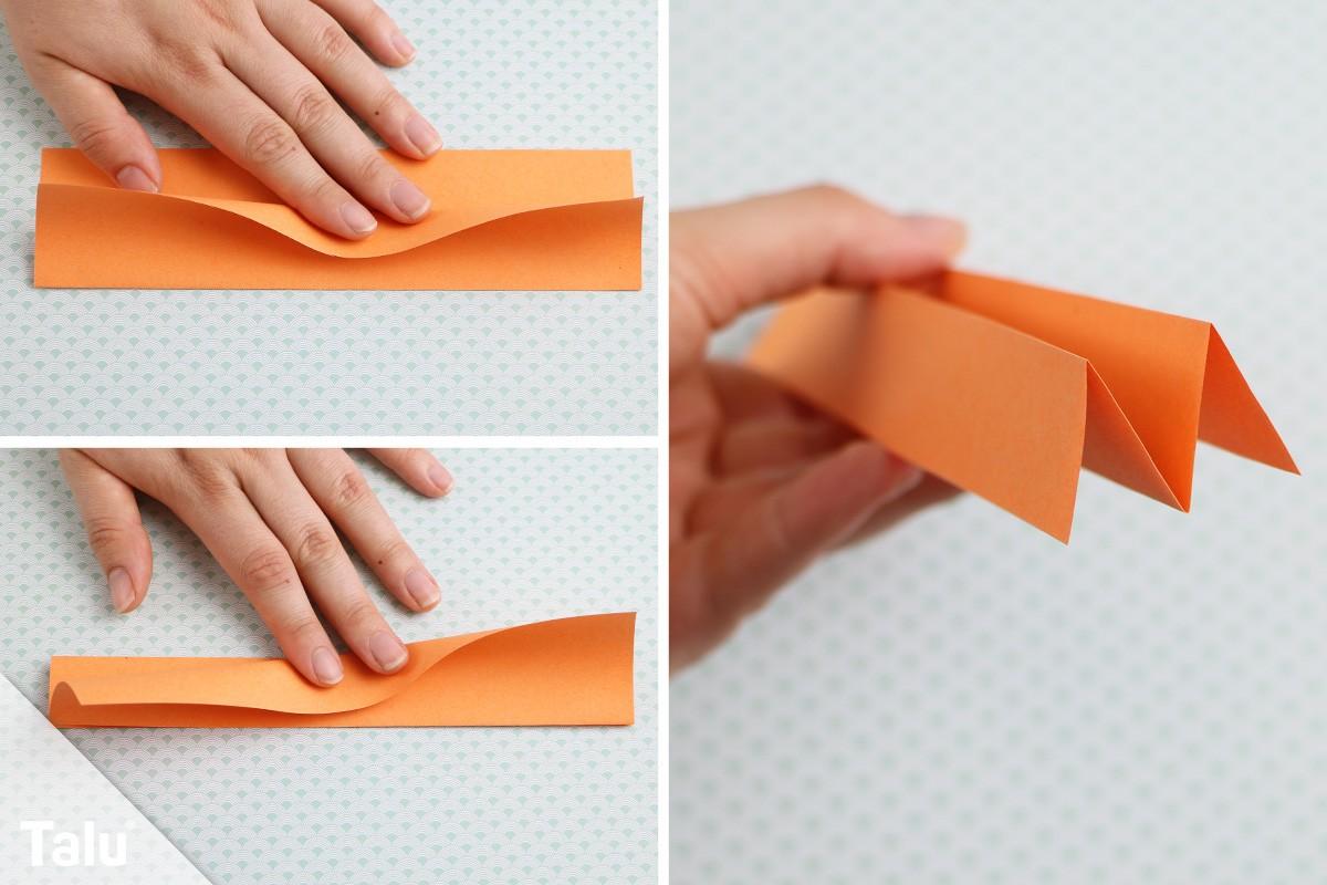 Origami Katze falten
