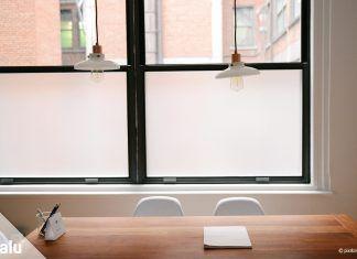 Blickdichte Fensterfolie