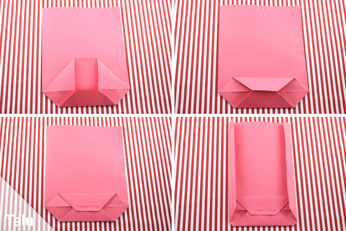 adventskalender mit t ten basteln anleitung f r papiert ten. Black Bedroom Furniture Sets. Home Design Ideas