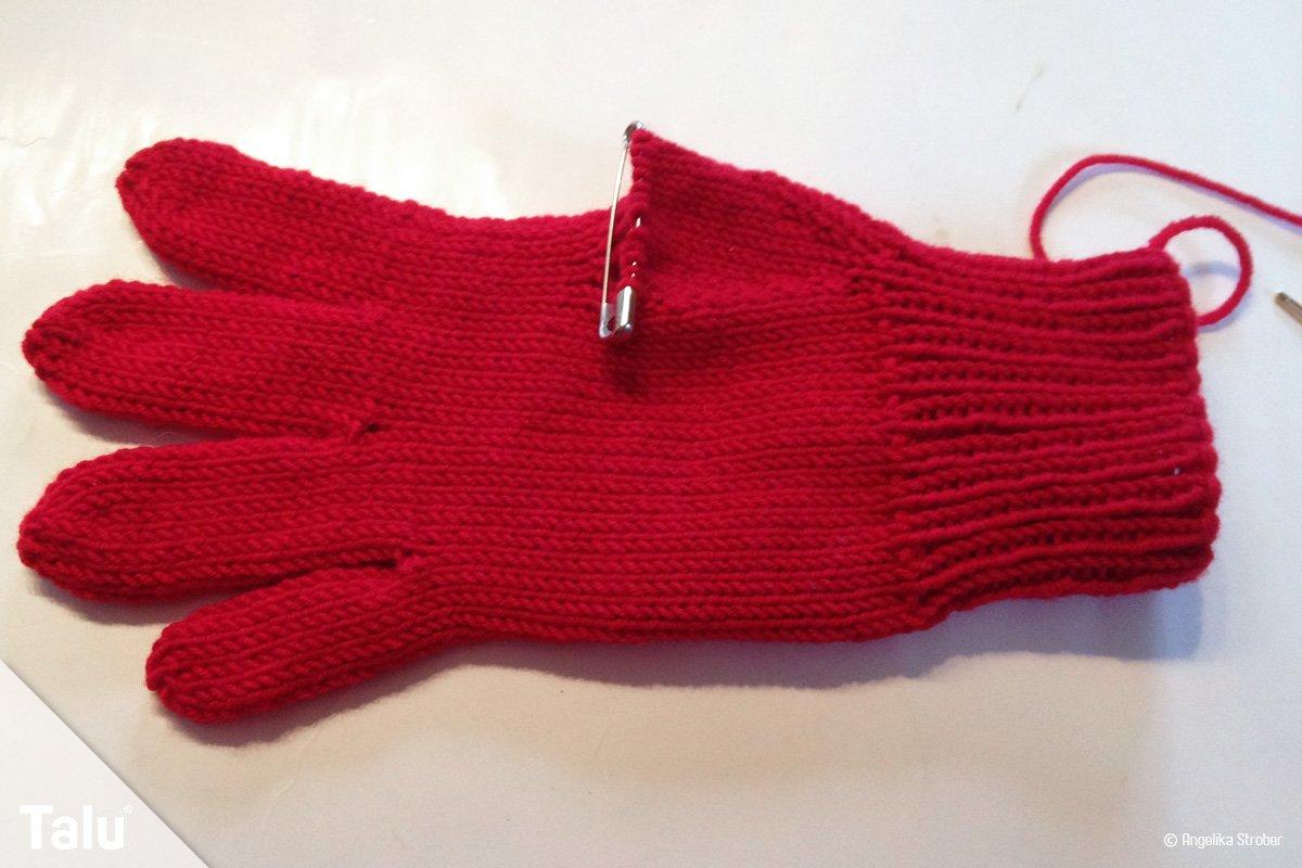 Fingerhandschuhe stricken – kostenlose Anleitung für Fingerlinge ...