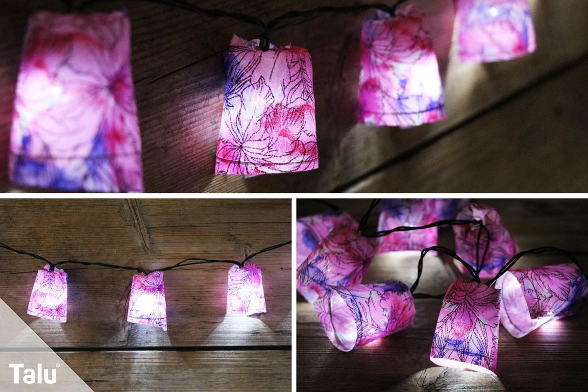 Lichterkette basteln