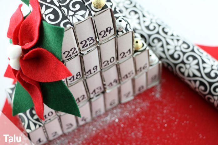 Mini-Adventskalender basteln