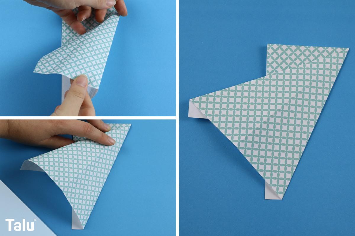 Origami-Engel falten