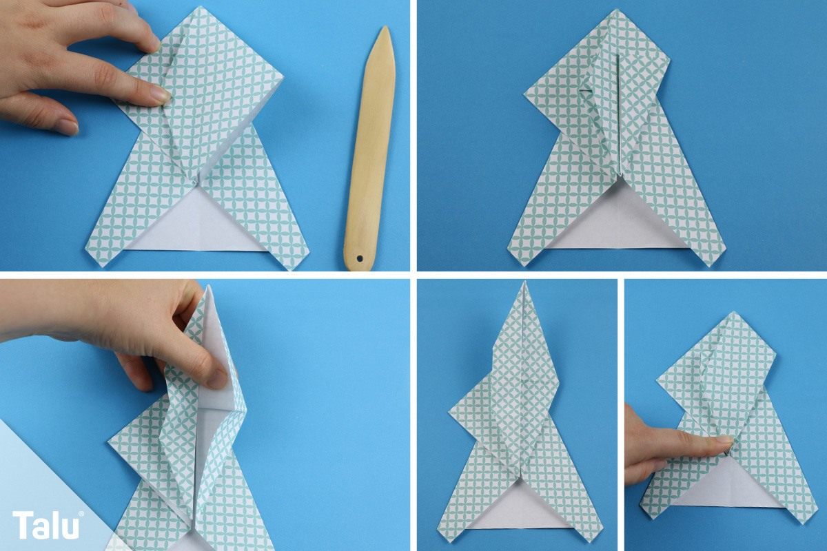 Origami-Faltanleitung