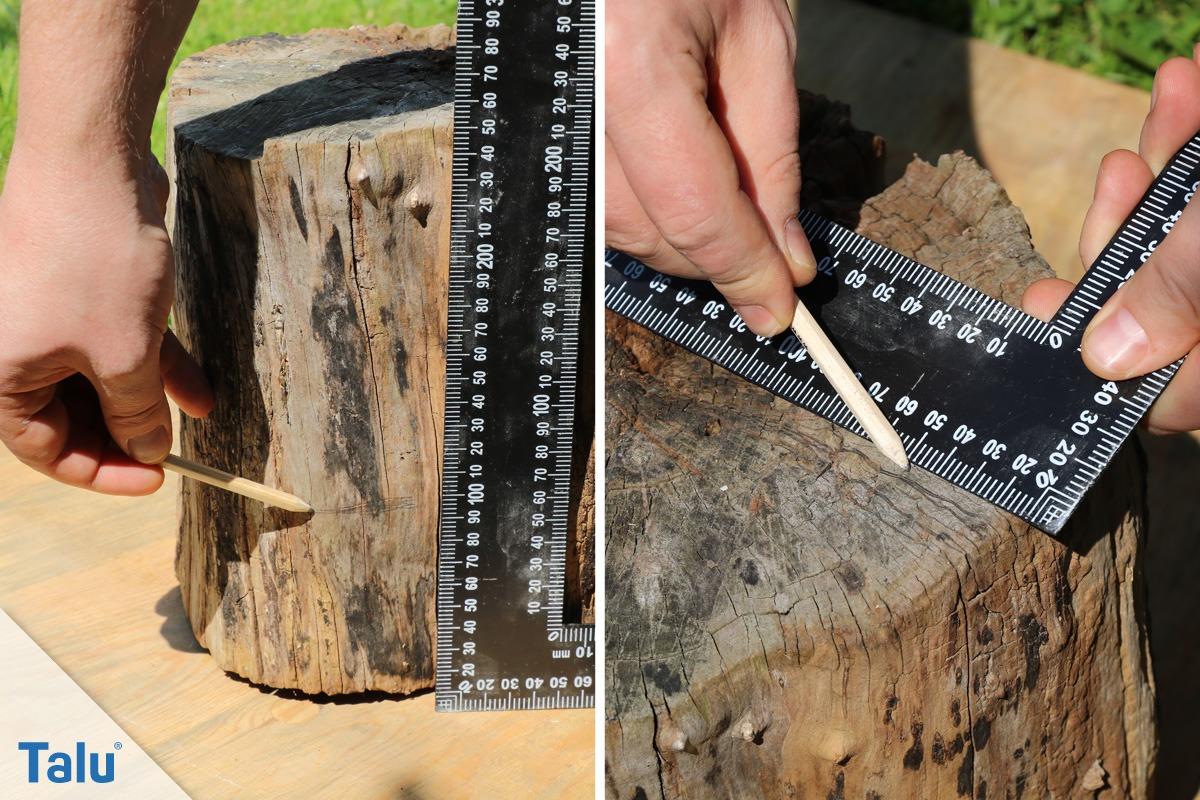 Baumfackel markieren