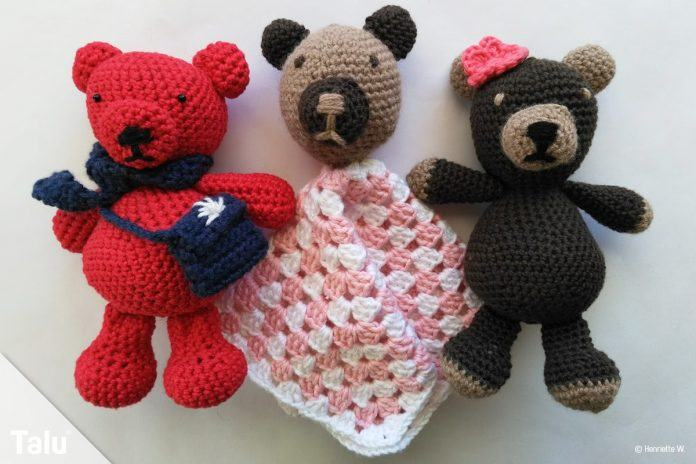 teddy h keln im amigurumi stil kostenlose anleitung. Black Bedroom Furniture Sets. Home Design Ideas