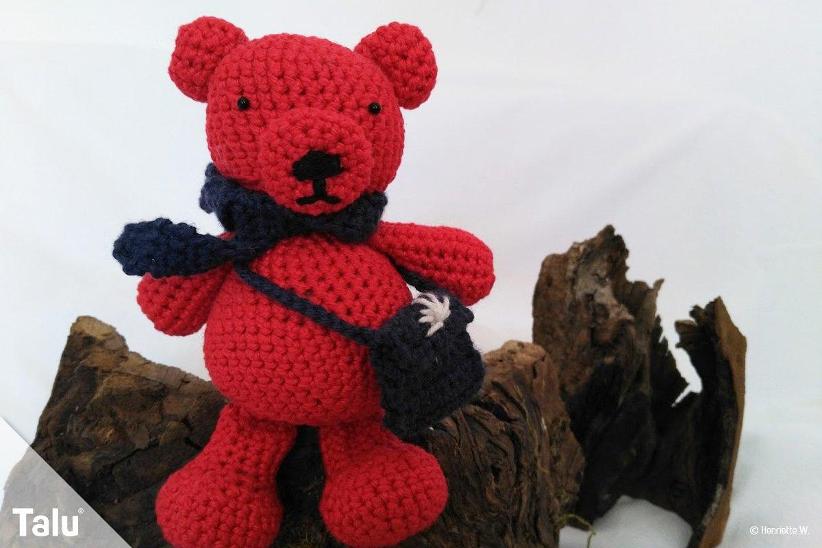 Teddybär häkeln