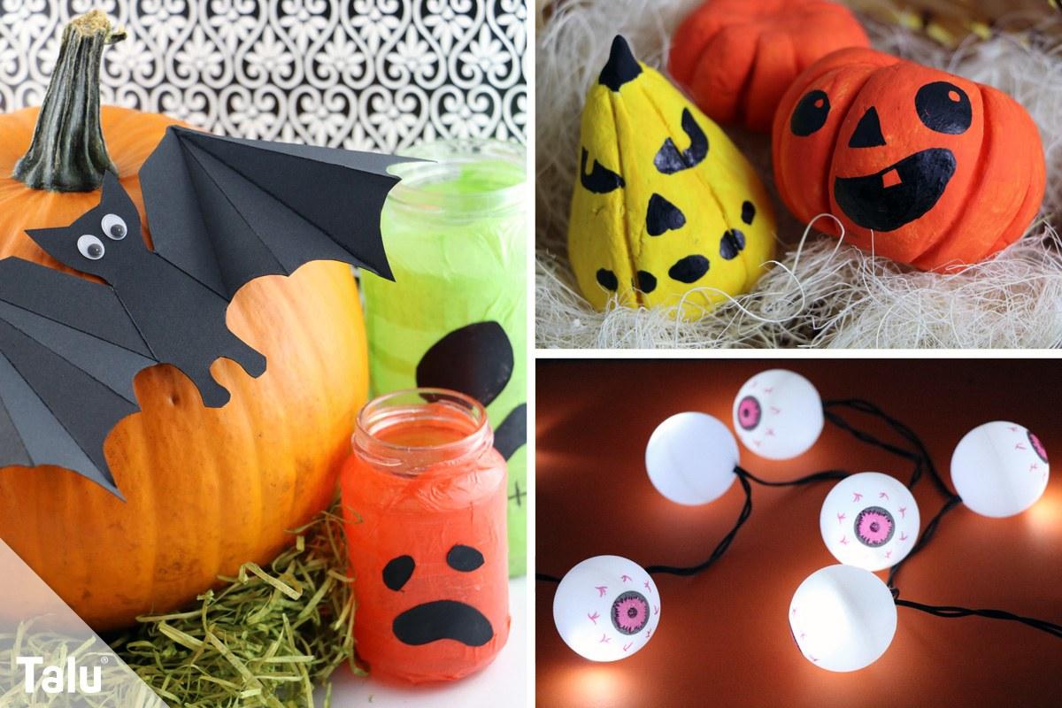 Basteln An Halloween Anleitung Fur 11 Bastelideen Talu De