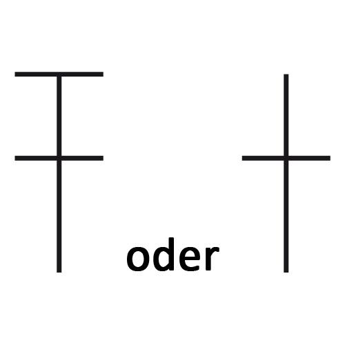 Symbol für ganzes Stäbchen