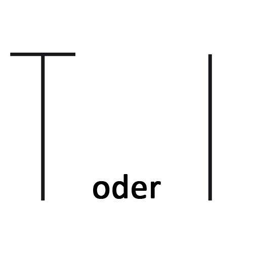 Symbol für halbes Stäbchen