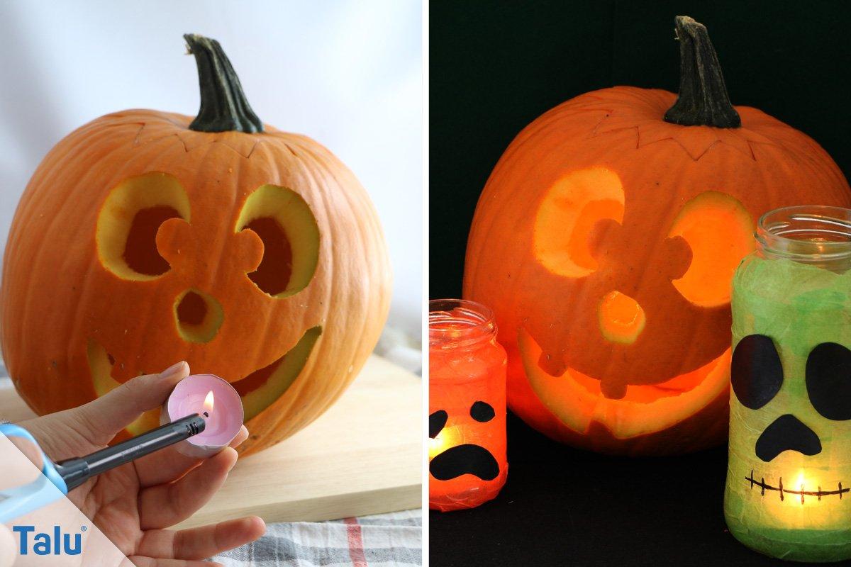 Halloween Kürbis DIY Anleitung