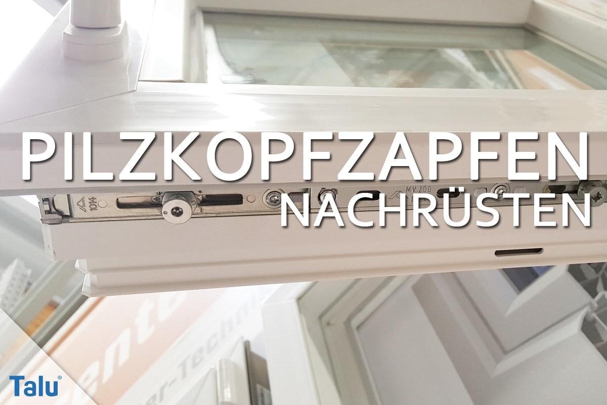 Gut gemocht Pilzkopfzapfen bei Fenstern nachrüsten - Preise und Anleitung BL65