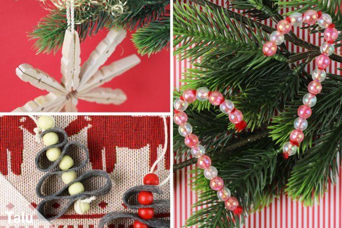 Christbaumschmuck selber machen 10 weihnachtliche - Christbaumschmuck selber machen ...