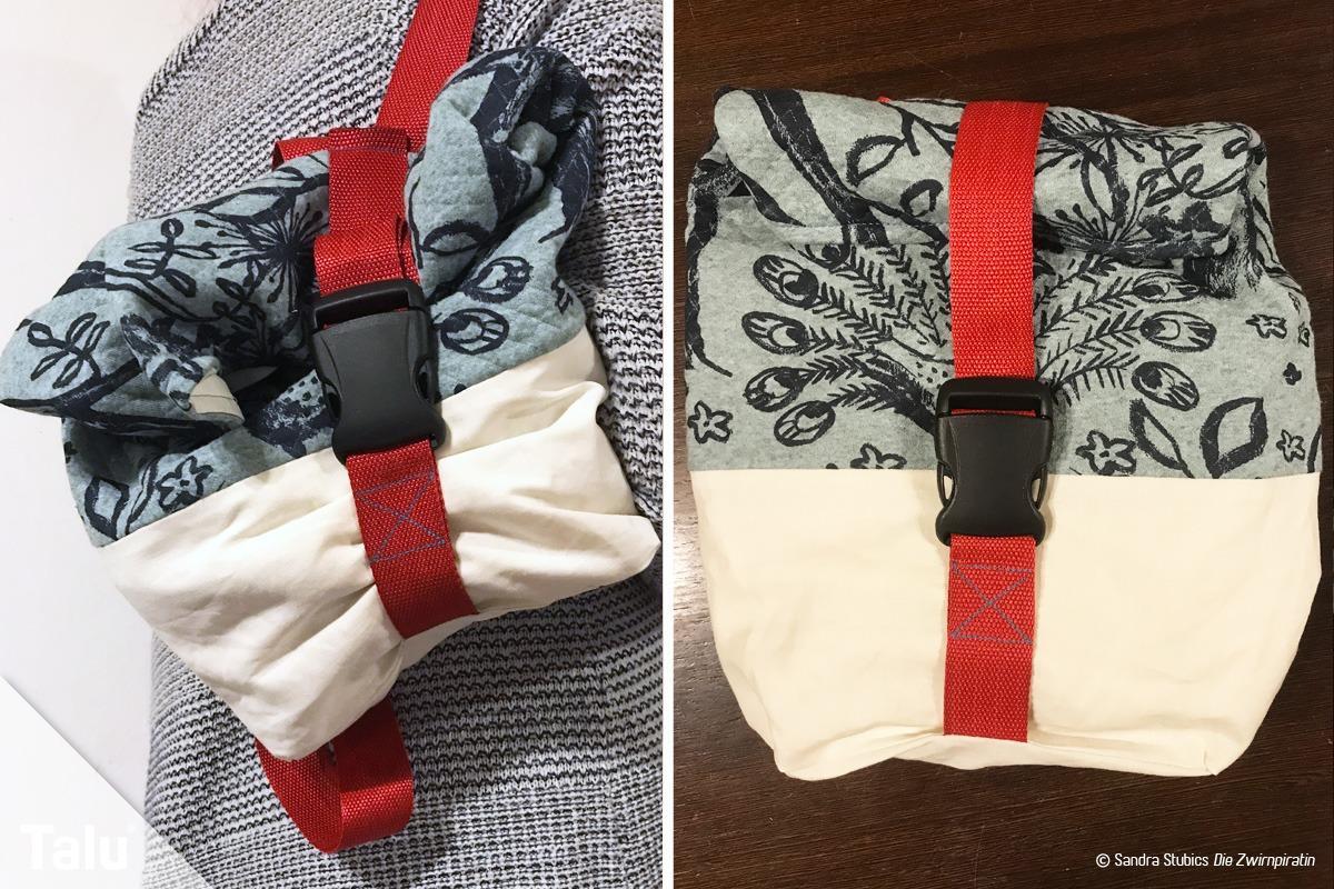 rucksack n hen trendiger stadtrucksack mit anleitung schnittmuster. Black Bedroom Furniture Sets. Home Design Ideas
