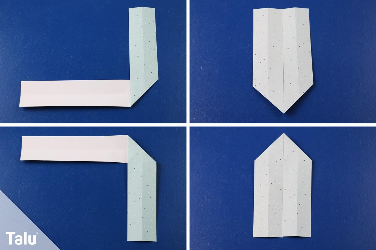 Serviettenringe aus Papier